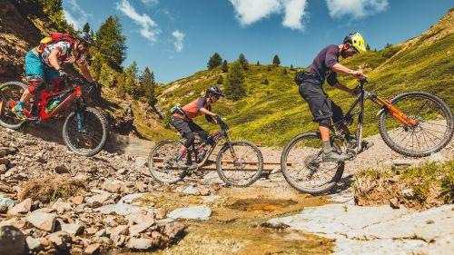 """A Livigno una caccia al tesoro in mountain bike con """"Tutti Frutti Challenge"""""""