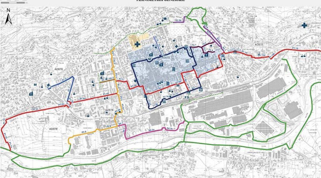 Aosta in bicicletta, il progetto in consultazione ad Aosta