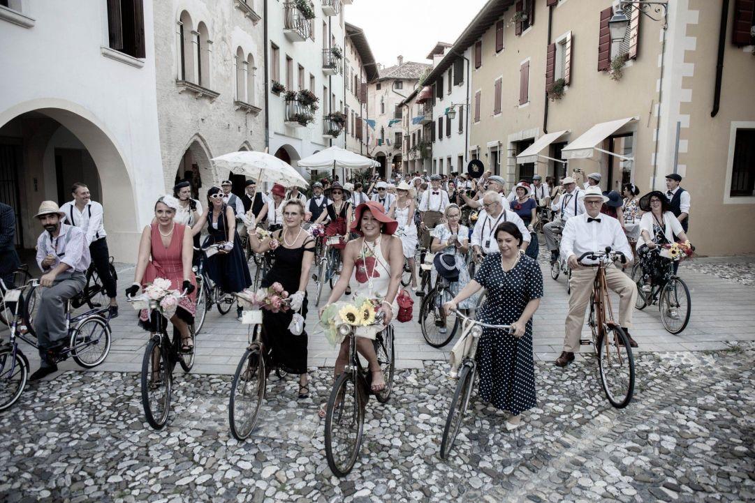 Sacile si prepara all'invasione delle bici vintage grazie alla Bike Vintage Alpe Adria