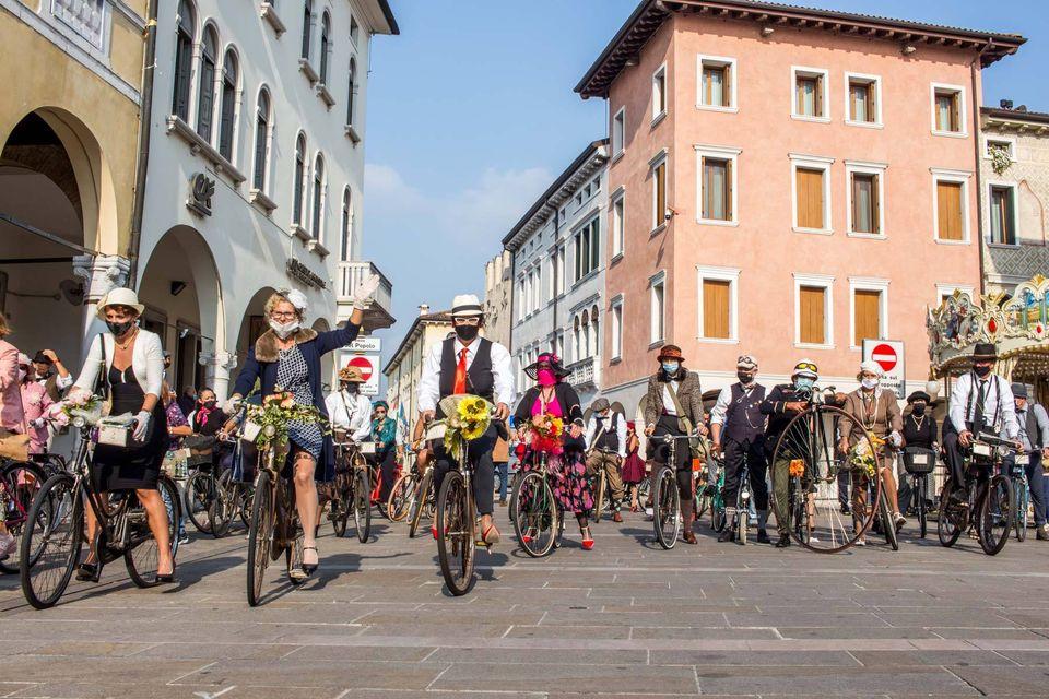 Grande successo per la Bike Vintage Alpe Adria di Sacile